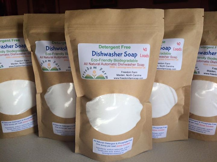 ALL NATURAL DISHWASHER POWDER